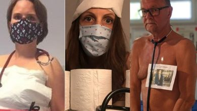 Photo of Doctors pose nude to call for more PPE in Germany's coronavirus fight
