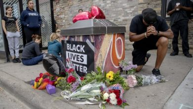 Photo of 4 police officers fired after death of handcuffed Black man in Minneapolis