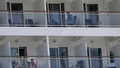Photo of Thousands of crew members still stuck on cruise ships, begging to leave