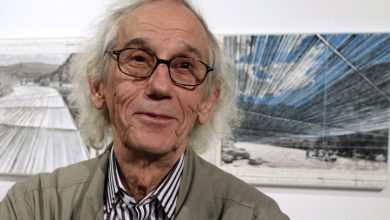 Photo of Christo, artist known for massive public art installations, dead at 84