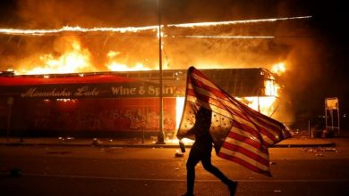 Photo of George Floyd: Scenes from protests in Minneapolis and around the U.S.