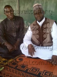 Sheik Muaz ABDULAHI Muaz the founder of Darul ilm ul Qur'an moricas and Ikowe Ibrahim in his Islamic school