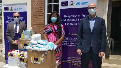 Photo of EU donates COVID-19 protective gears to drug treatment centres in Nigeria