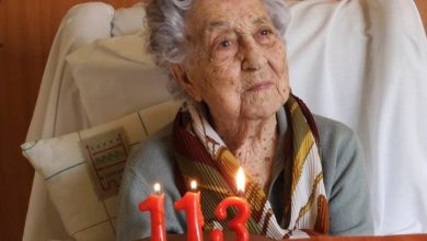 Photo of 'Oldest woman in Spain' survives coronavirus at age 113