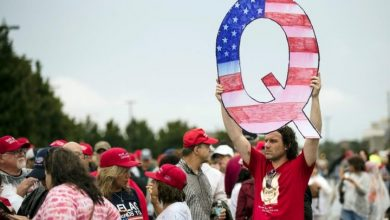 Photo of Facebook removes accounts linked to QAnon far-right conspiracy theory