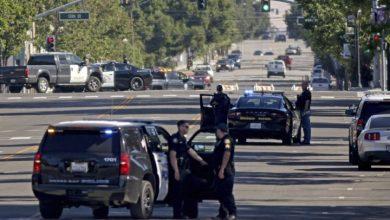 Photo of California sheriff's deputy shot during 'ambush' at police station, officials say