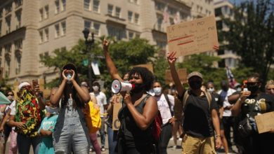 Photo of George Floyd protests spread to smaller, predominantly white towns in the U.S.