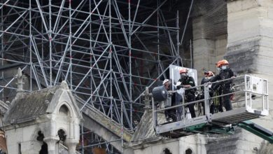Photo of Reconstruction work on Notre Dame cathedral restarts after coronavirus delay