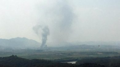 Photo of North Korea blows up inter-Korea liaison office as tensions with South Korea rise