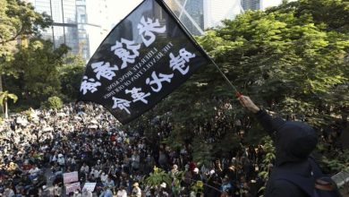 Photo of Hong Kong leader says 'everyone has to learn their lesson' a year into protests