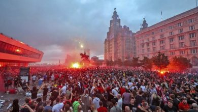 Photo of Coronavirus: U.K. police to get tougher on crowds after Liverpool celebration