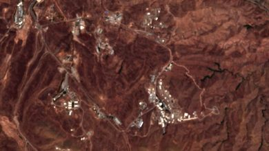 Photo of Iran blast struck by suspected missile production site, satellite images show