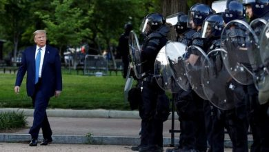 Photo of Trump may be backing off military threat amid George Floyd protests: sources