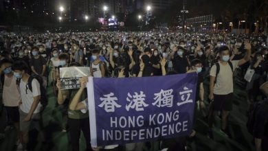 Photo of Hong Kong protesters defy ban, hold vigil for Tiananmen Square anniversary