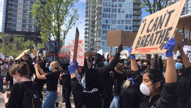 Photo of Calgarians fill streets in 2nd protest in wake of George Floyd's death