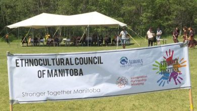 Photo of Manitoba pro-diversity groups celebrate Multiculturalism Day