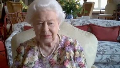 Photo of The Queen makes first-ever public video call thanks to COVID-19