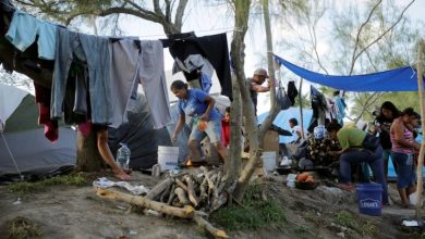 Photo of U.S.-Mexico border refugee camp reports 1st COVID-19 case, raising alarms over spread
