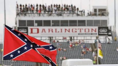 Photo of NASCAR bans Confederate flag from its properties, future races