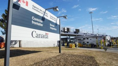 Photo of Asylum seekers continue crossing into Canada despite coronavirus border shutdown