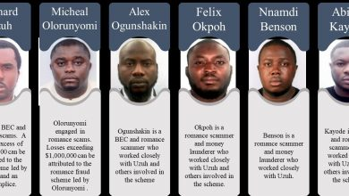 Photo of US sanctions six Nigerians over $6m cyber, romance frauds