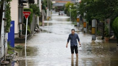 Photo of More heavy rains in Japan raises flooding death toll close to 60